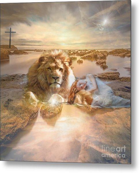 Divine Rest Metal Print