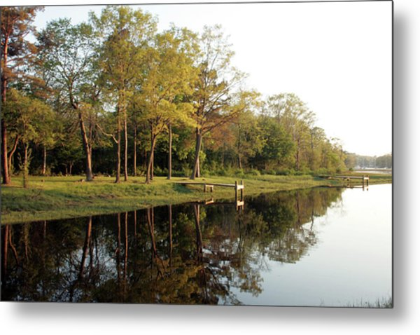 Restful Reflection Metal Print by Roxanne Marshal