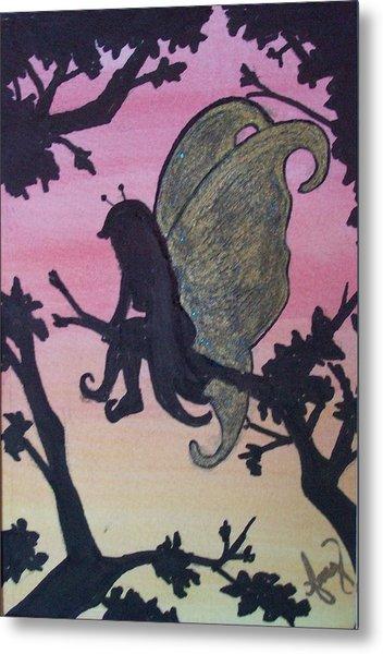 Restful Sunset Metal Print by Amy Lauren Gettys