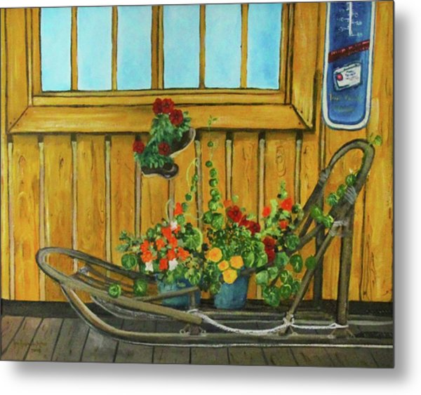 Retired Metal Print by Amy Reisland-Speer