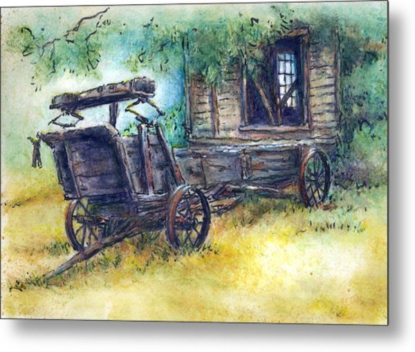 Retired At Last Metal Print
