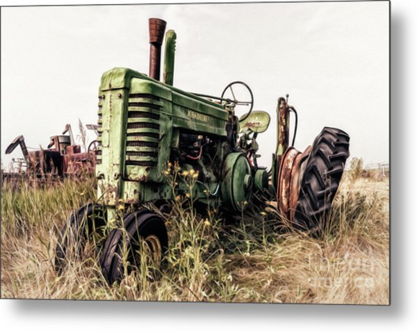 Retired Metal Print