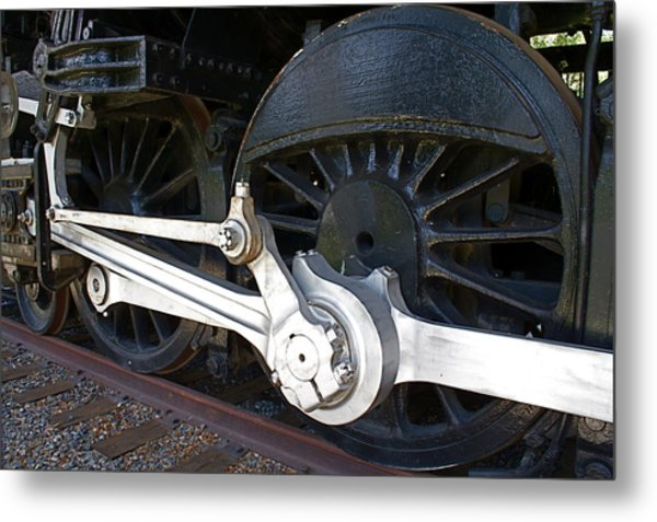Retired Wheels Metal Print