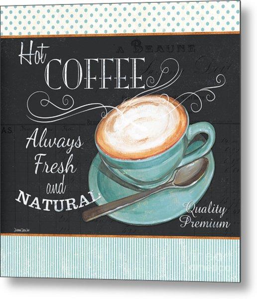 Retro Coffee 1 Metal Print