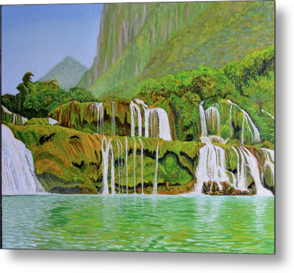 Returned To Paradise Metal Print