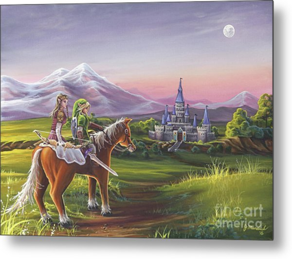 Returning Home Metal Print