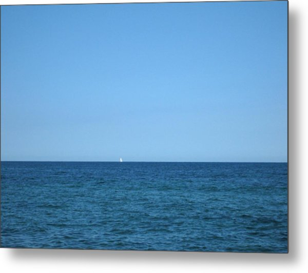 Rhapsody In Blue Metal Print