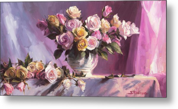 Rhapsody Of Roses Metal Print