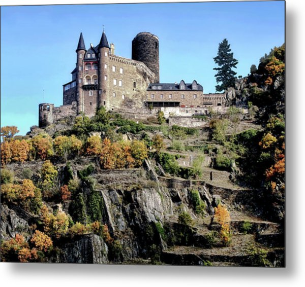 Rhine Gorge Metal Print