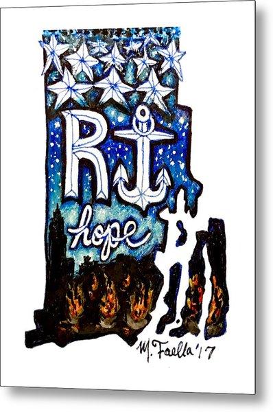 Rhode Island, Hope Metal Print