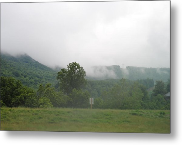 Riasing Mist Metal Print by Christopher Rohleder
