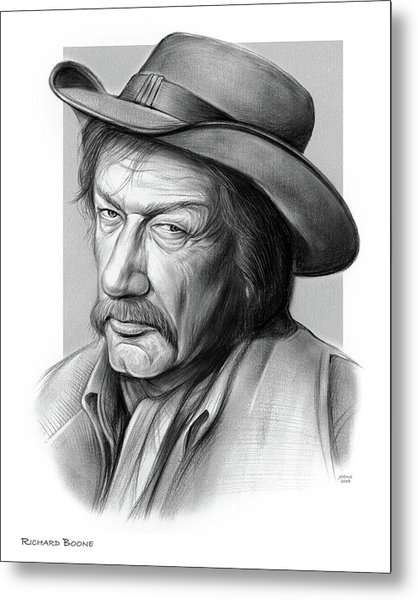 Richard Boone 3 Metal Print