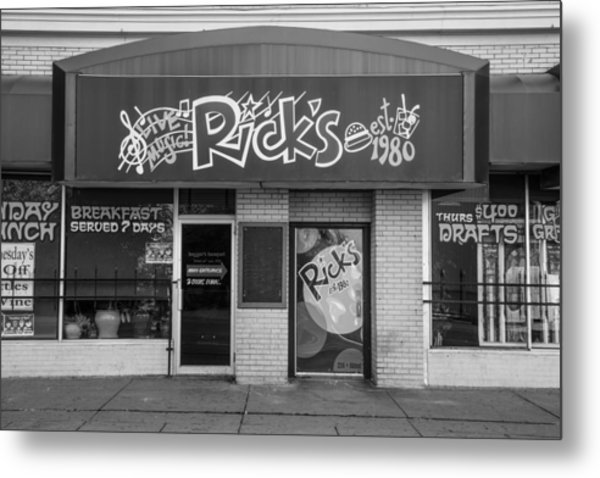 Rick's Cafe East Lansing  Metal Print