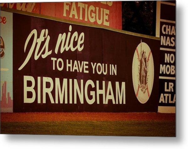 Rickwood Billboard Metal Print