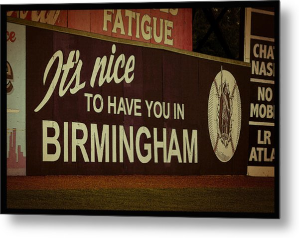 Rickwood Billboard Poster Metal Print