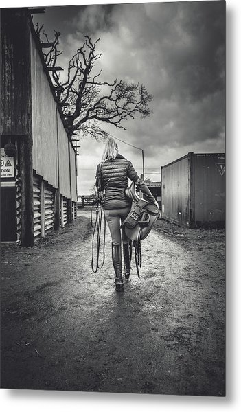 Ride Time Metal Print