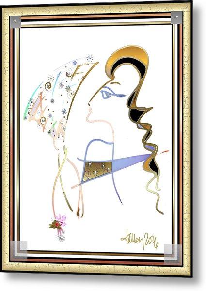 Ridicule - Madame De Blayac Metal Print