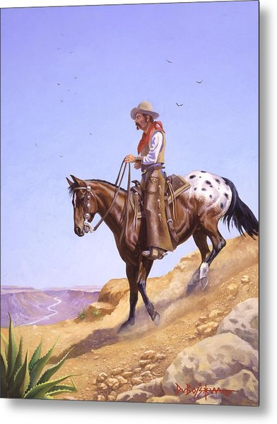 Ridin' High Metal Print