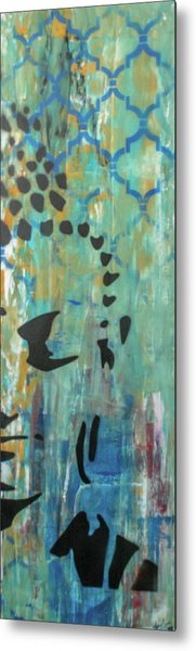 Metal Print featuring the painting Right Side Of My Heart by Jayime Jean