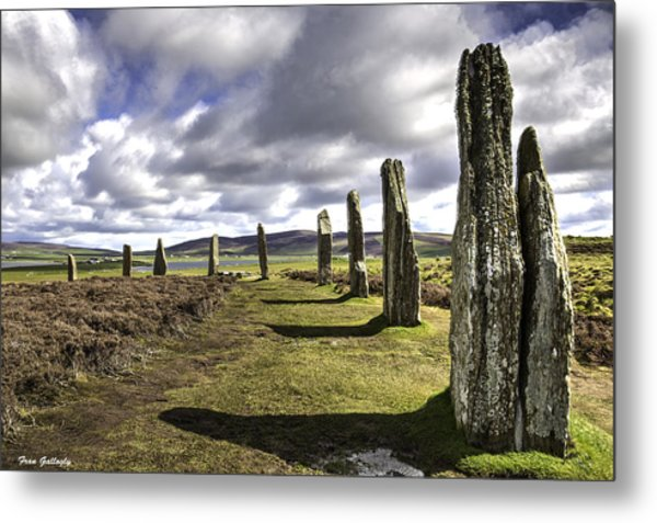 Ring Of Brodgar Metal Print