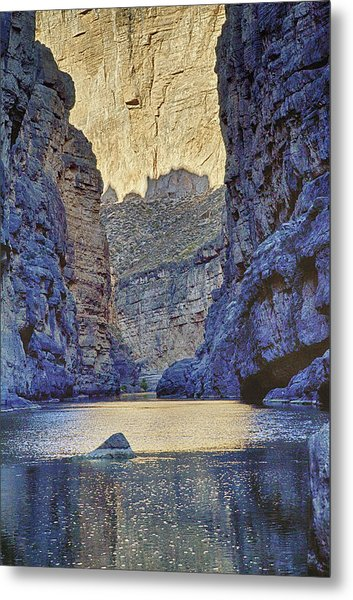 Rio Grand, Santa Elena Canyon Texas 2 Metal Print