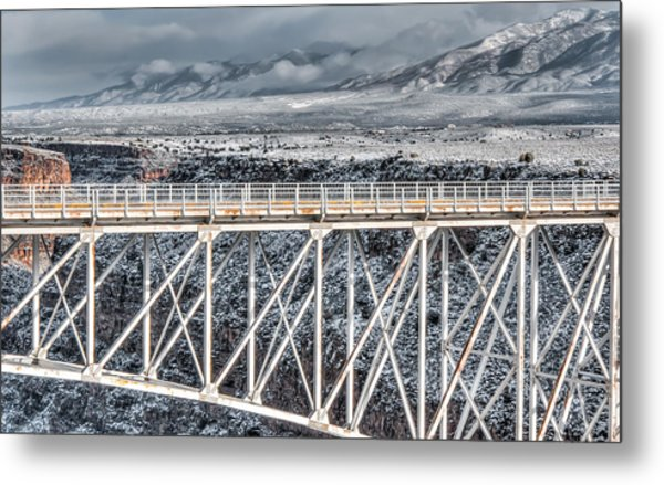 Rio Grande Gorge Bridge #001 Metal Print