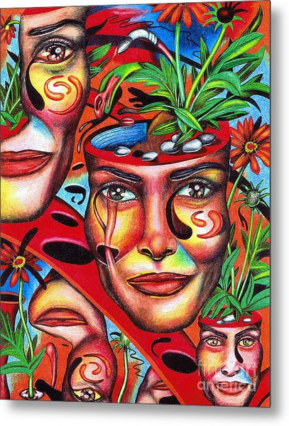 Ripening Of A Lucid Psyche Metal Print