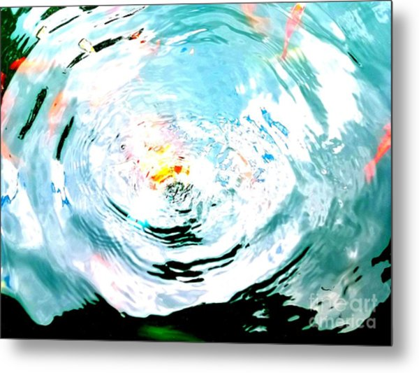 Metal Print featuring the photograph Ripple by Jennah Lenae