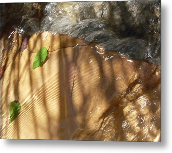 Ripples And Shadows Metal Print by Warren Thompson