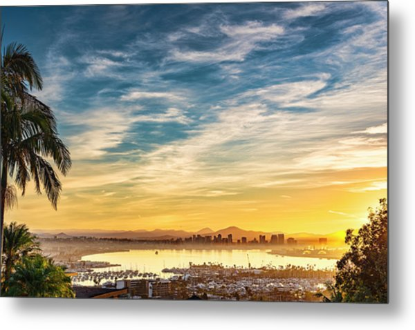 Metal Print featuring the photograph Rise And Shine by Dan McGeorge
