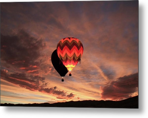 Rise And Shine Metal Print by Donna Kennedy