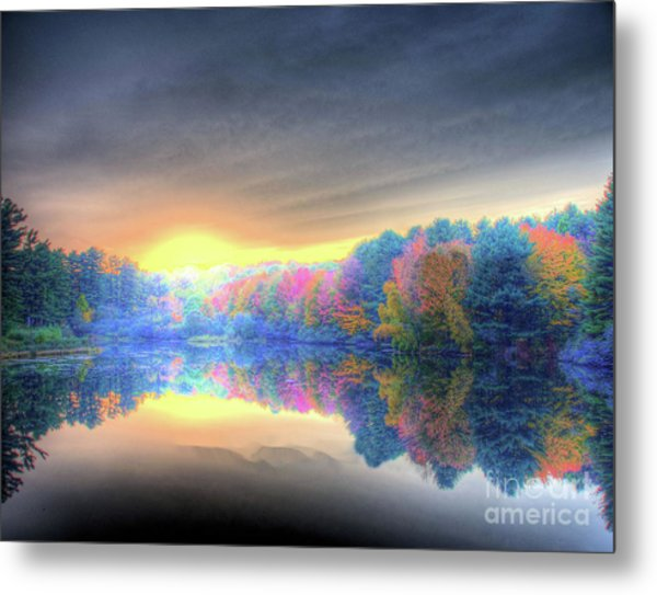 Rise Today Metal Print