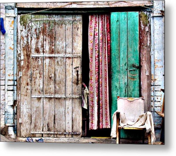 Rishikesh Door Metal Print by Derek Selander