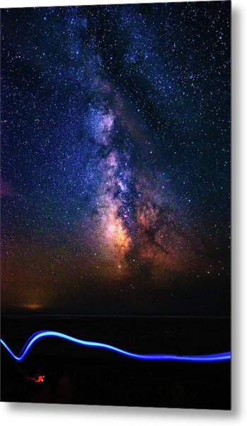 Metal Print featuring the photograph Rising From The Clouds by Bryan Carter
