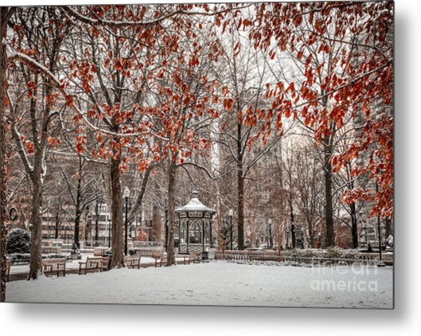 Rittenhouse Snowscape Metal Print