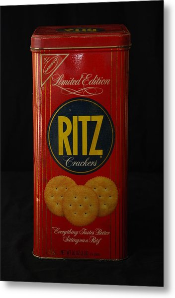 Ritz Crackers Metal Print