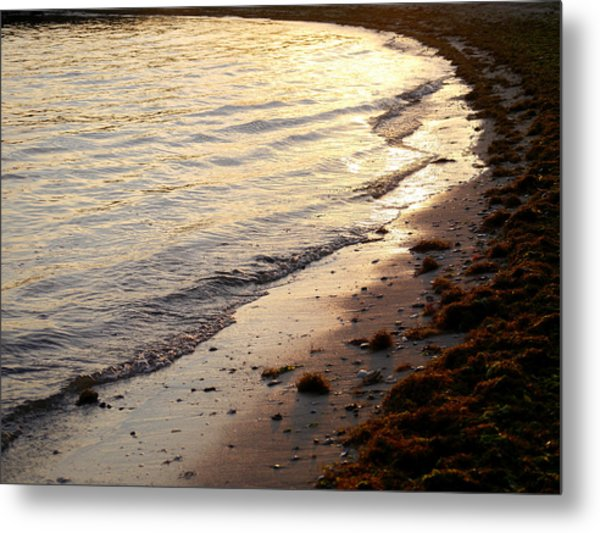 River Beach Metal Print