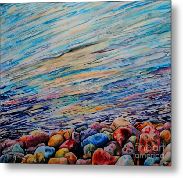 River Gems Metal Print by Tracy Rose Moyers
