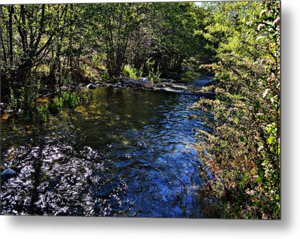 River Of Peace Metal Print
