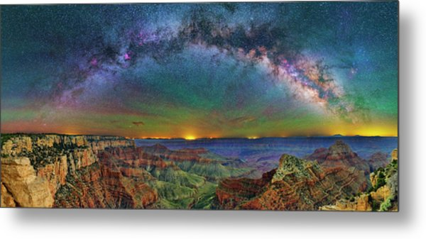 River Of Stars Metal Print