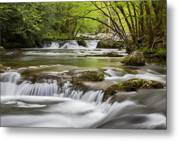 River Peace Metal Print