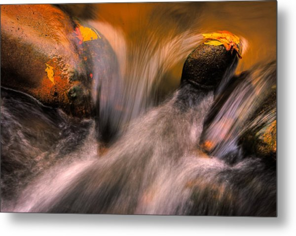 River Rocks, Zion National Park Metal Print