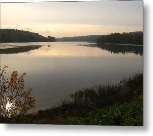 River Solitude Metal Print