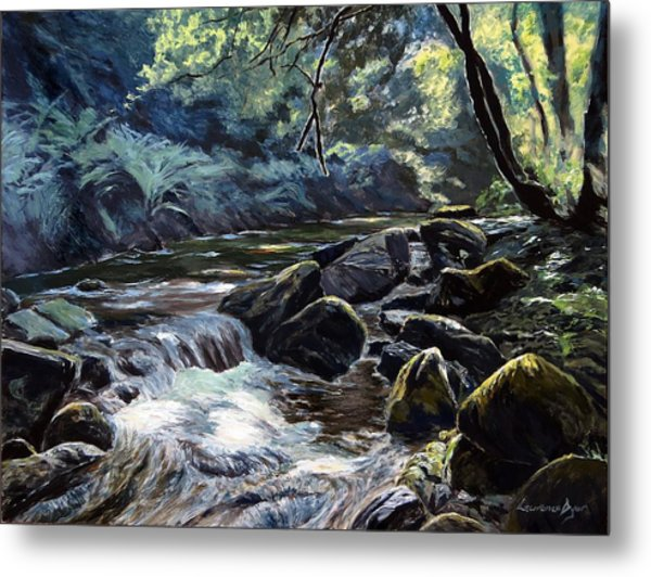 River Taw Sticklepath Metal Print