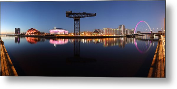 River View Panoramic Metal Print