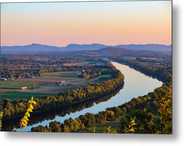 Connecticut River View  Metal Print