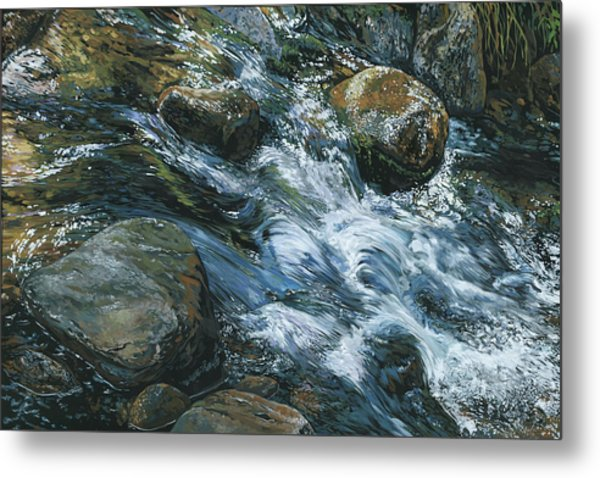 River Water Metal Print