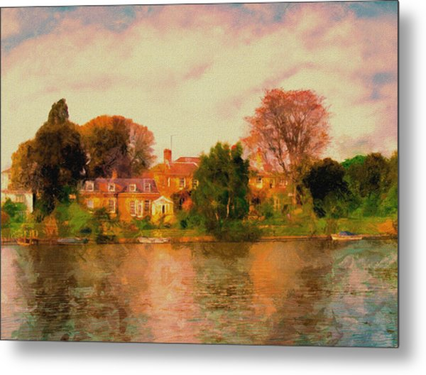 Riverview II Metal Print