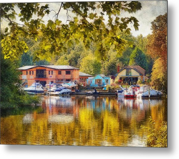 Riverview Ix Metal Print