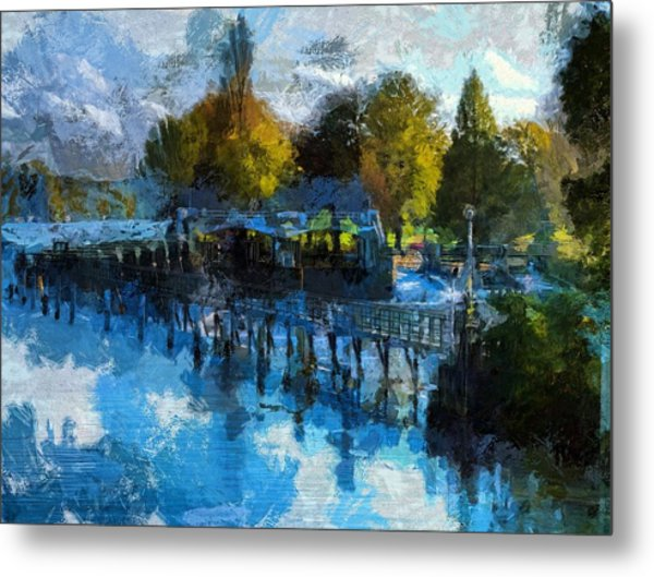 Riverview Metal Print
